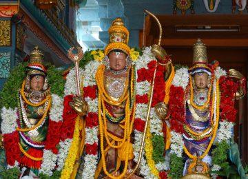 Sri Kolavilli Ramar temple